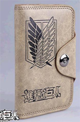 Attack on Titan Survey Corps Wallet with Button