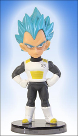 Dragonball Z Movie: Rebirth of F WCF Vol. 1 Vegeta Figure