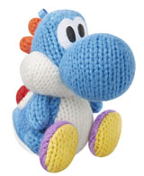 amiibo Light Blue Yarn Yoshi Yoshi's Woolly World