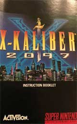 X-Kaliber 2097 (Instruction Manual)