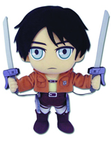 Attack On Titan Eren 9 Inch Plush
