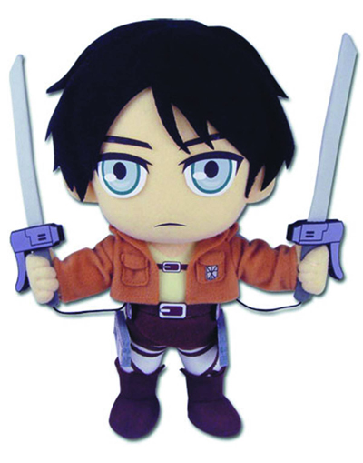 Attack On Titan Eren Plush