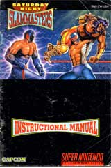 Saturday Night Slam Masters (Instruction Manual)