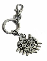 Legend of Zelda Majora's Mask Silver Keychain