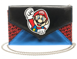 Super Mario Envelope Wallet With Chain
