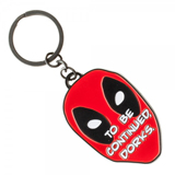 Marvel Deadpool Dorks Metal Keychain