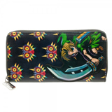 Legend of Zelda Majoras Mask 3D Large Zip Around Wallet