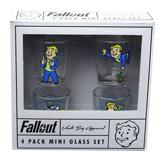 Fallout Vault Boy Shot Glass 4 Pack