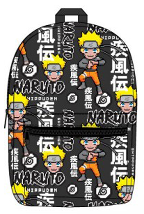 Naruto Shipudden Sublimated Backpack