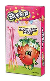 Shopkins Strawberry Sticks
