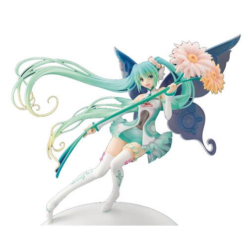 Hatsune Miku GT Project Racing Miku 2017 PVC Fairy Figure