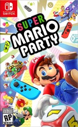 Super Mario Party (Nintendo Switch) boxart