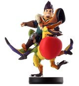 amiibo Qurupeco and Dan Monster Hunter Stories