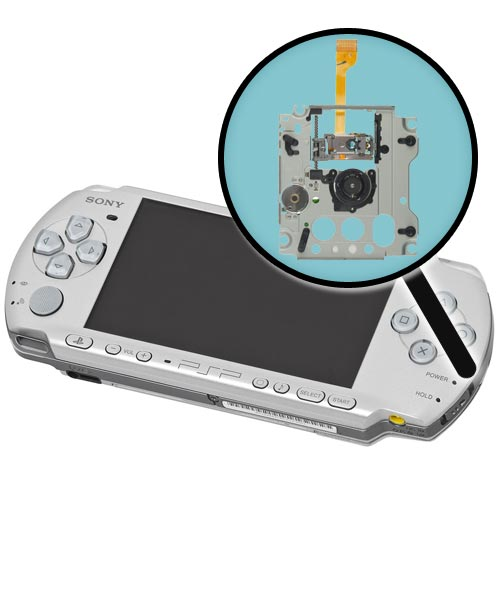 Sony PSP Model 3000 Repairs: UMD Drive Assembly Replacement Service