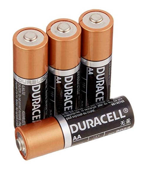 AA Alkaline Batteries 4 Pack