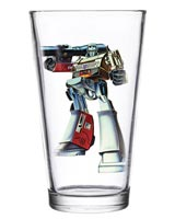 Transformers Megatron 16 oz Pint Glass