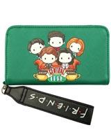 Friends Central Perk Chibi Phone Wallet Wristlet