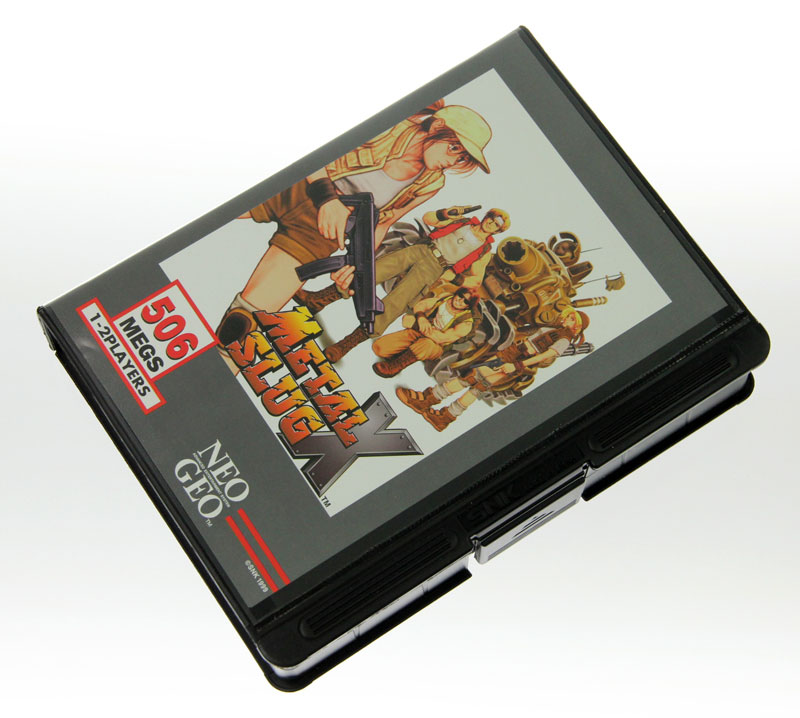 Front image of Metal Slug X for Neo Geo