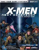 X-Men: Next Dimension Official Strategy Guide Book