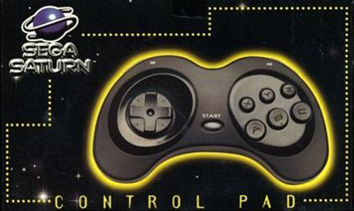Saturn Turbo Controller by Sega