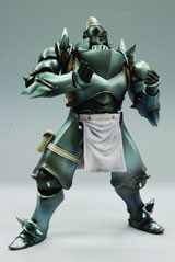 Full Metal Alchemist Brotherhood Play Arts Kai Alphonse Action Figure