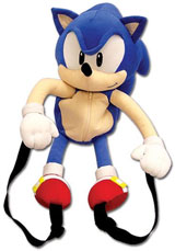 Sonic the Hedgehog 20 Inch Plush Backpack