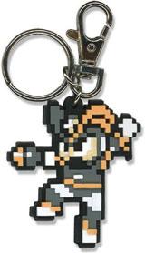 Mega Man 10 Bass 8-bit Keychain