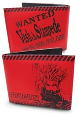 Trigun Red Wanted Wallet