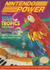 Nintendo Power Volume 21 Star Tropics