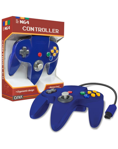 N64 Cirka Controller Blue