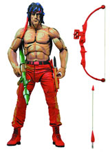 Rambo First Blood Part II Classic Video Game 7 Inch Action Figure
