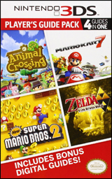 Nintendo 3DS Player's Guide Pack: 4 Guides in One