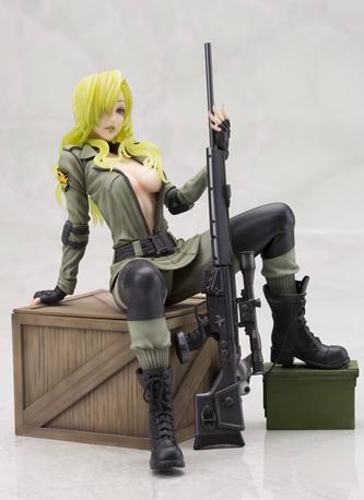 Metal Gear Solid Sniper Wolf Bishoujo Statue