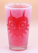 Arts & Crafts: Majora's Mask Custom-made 16oz Glass