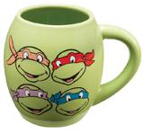 Teenage Mutant Ninja Turtles 18oz Ceramic Oval Mug