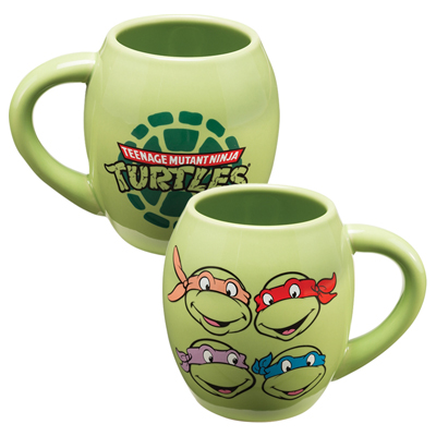 Teenage Mutant Ninja Turtles 18oz Ceramic Oval Mug