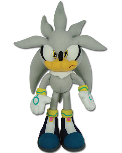 Sonic the Hedgehog Silver Sonic 12 Inch Plush