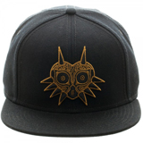 Legend of Zelda Majora's Mask Black Snapback