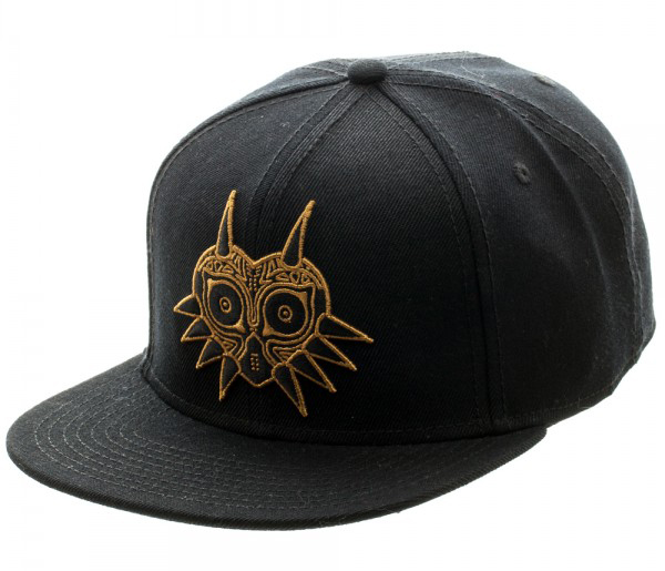 Legend of Zelda Majoras Mask Black Snapback