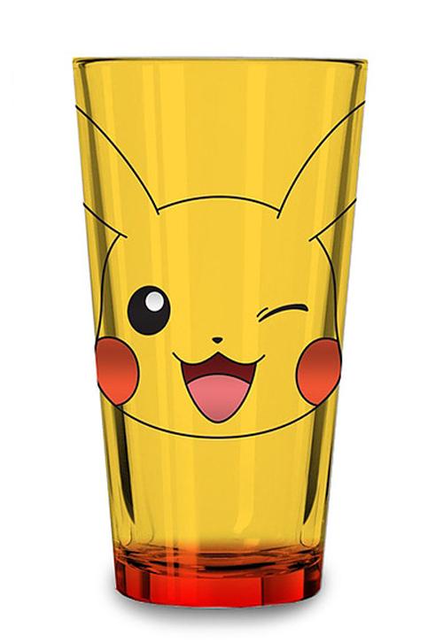 Pokemon Pikachu Foil Print Pint Glass