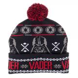 Star Wars Darth Vader Fairisle Pom Beanie