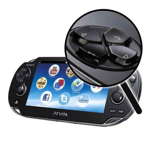 PlayStation Vita Repairs: Left D-Pad Replacement Service