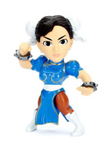 Street Fighter Metals Chun-Li Die-Cast 4 Inch Figure