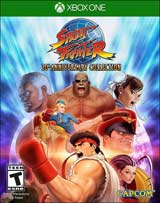 XB1 Street Fighter 30th Anniversary Collection Boxart