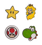 Super Mario Lapel Pin Set