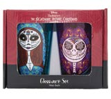Nightmare Before Christmas: Jack And Sally Sugar Skulls 16oz Glassware Set