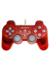PSOne DualShock Controller Clear Red by Sony