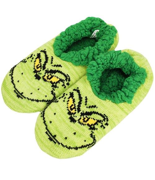 Dr Seuss The Grinch Slipper Socks