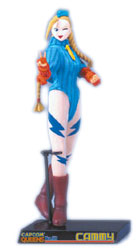 Capcom Queens: Cammy Zero 3 Version Dollgure