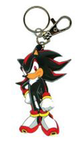 Sonic X Shadow Die Cut Keychain